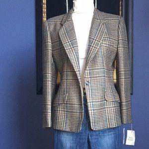 VINTAGE Evan Piccone wool blazer NWT